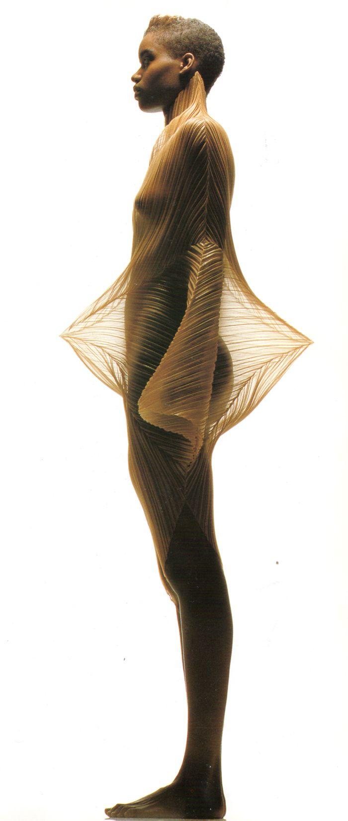 Issey Miyake. Pleats + Second Skin