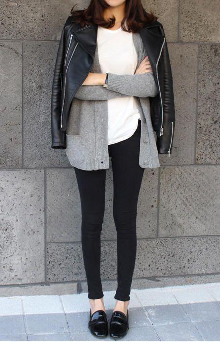 Jaqueta de couro = <3
