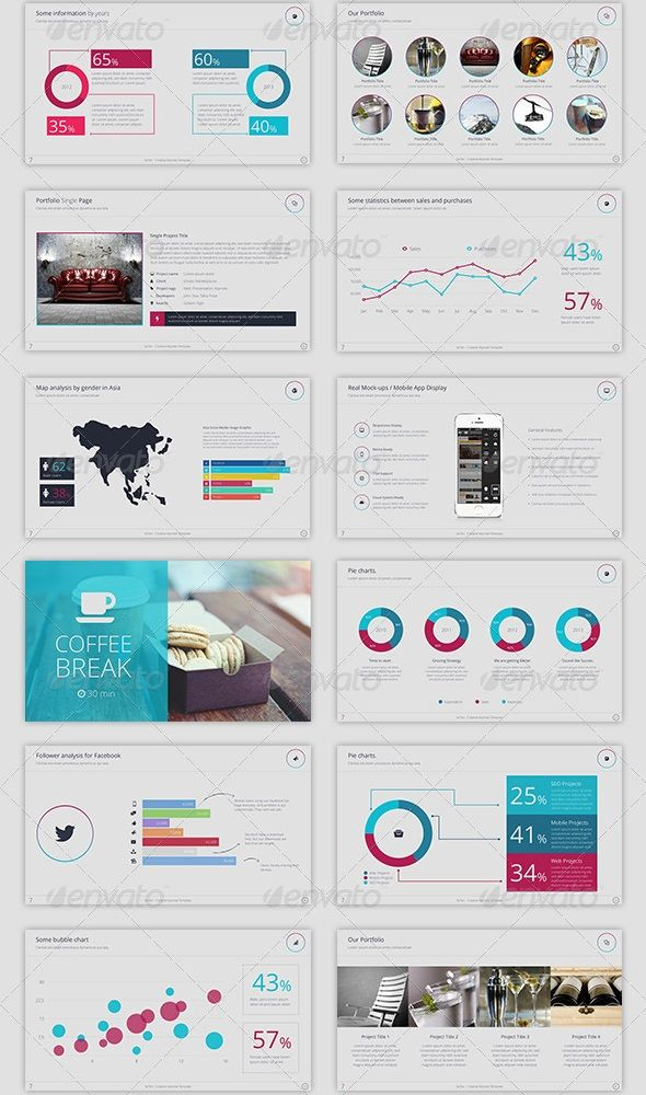 Best Presentation Design Images On   Page Layout