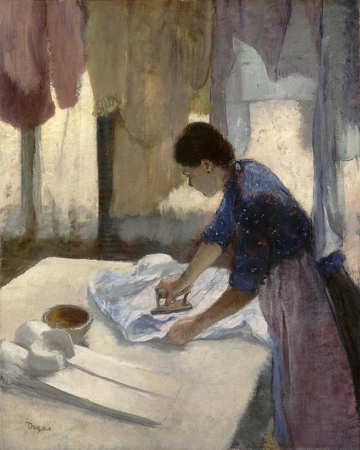 Edgar Degas - Woman Ironing [c.1876-87]