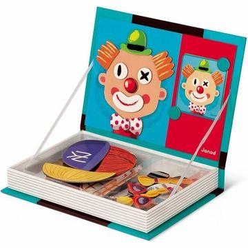Janod Magnetibook Crazy Face. Los magnetibook son un regalo práctico y divertido con el que los niños aprenderan y pasarán muy buenos momentos.