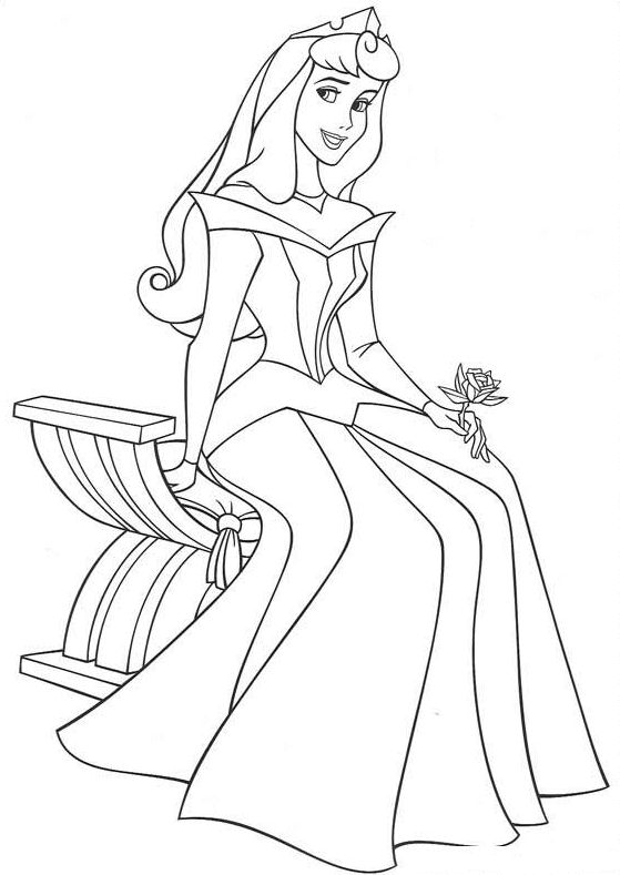 Disney Coloring Pages - Sleeping Beauty (printable, copics, coloring page)