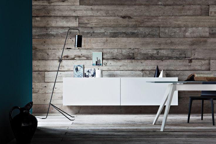 sistema modulare   madie   modello Contemporanea   Pianca design made in italy mobili furniture casa home giorno living notte night