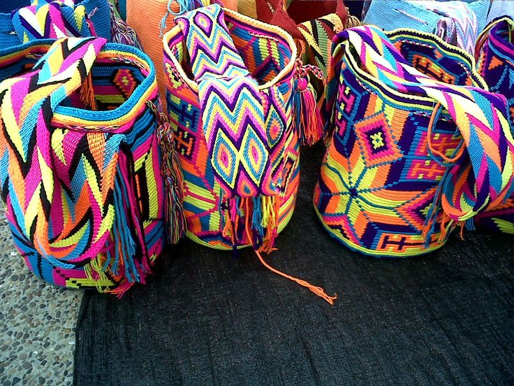 ethnic and colorful bags #r29summerstyle
