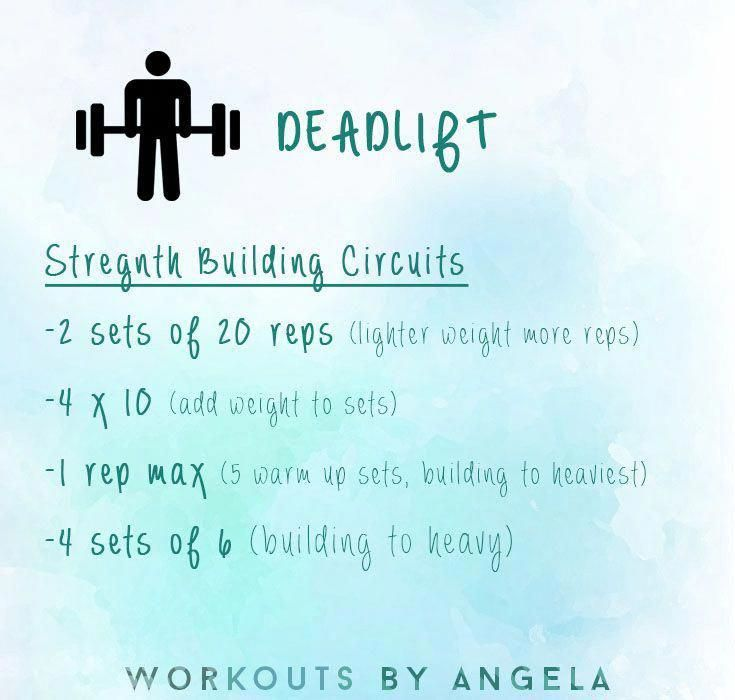 deadlift work out sequence #DoingDeadliftExercises