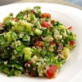 Mediterranean Herb Quinoa Salad