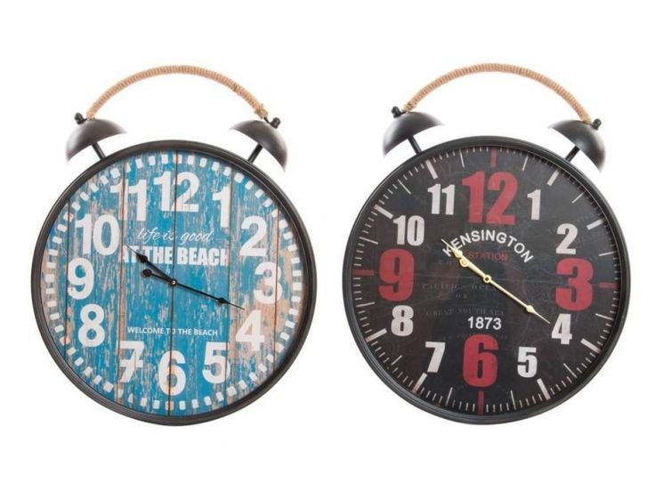 #reloj madera y pared vintage https://www.catayhome.es/categoria/relojes/