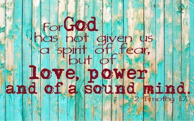 Bible verse - 2 Timothy 1:7