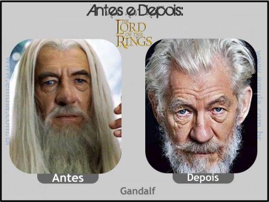O SENHOR DOS ANÉIS - Gandalf