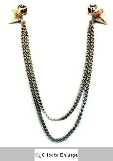 Spike Collar Necklace - Gold