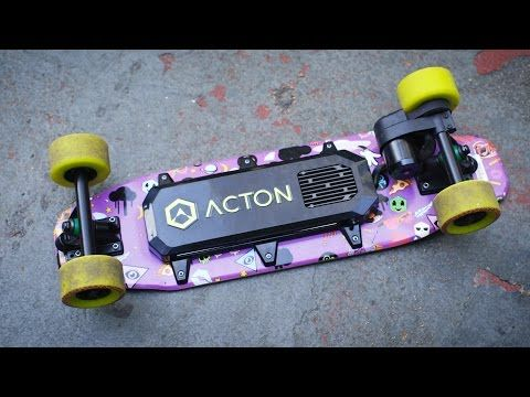 Blink Board: the smallest, cheapest electric skateboard yet - YouTube