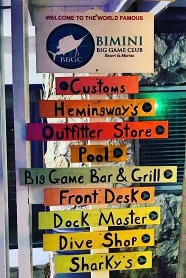 All the fantastic parts of Bimini Big Game Club!