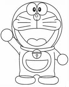 Mewarnai Gambar Doraemon   AyoMewarnai