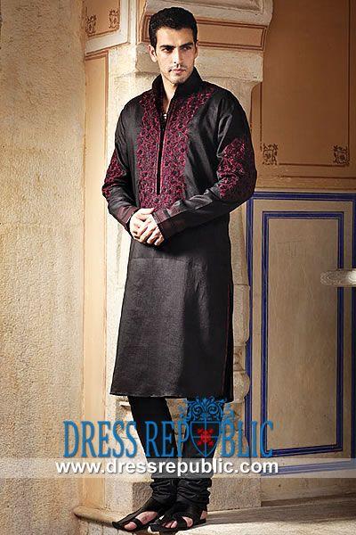Style DRM1557 - DRM1557, Dress Republic Formal Men's Collection 2013, Kurta Churidar Pajamas, Men's Chooridar by www.dressrepublic.com