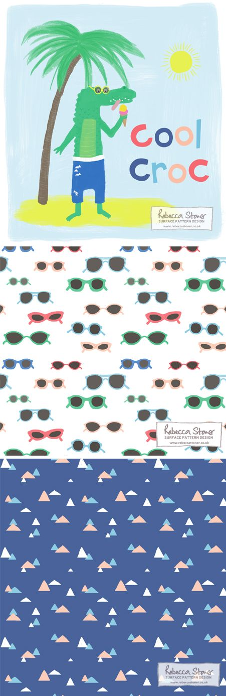 'Cool Croc' collection by Rebecca Stoner