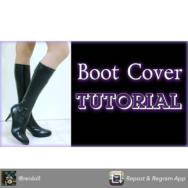 Repost from @reidoll using @RepostRegramApp - NEW VIDEO TUTORIAL IS READY! 0  After very many questions about our high cosplay boots we made this video-tutorial for you guys. It's BOOT COVER TUTORIAL!  Go and watch it right now!  Don't forget to press subtitle button for English subs  Follow this link to watch http://www.youtube.com/watch?v=PcUaaqDYtsM  We hope this video will be useful and interesting for you!  WE NEED YOUR SUPPORT! Subscride to our channel to be the first to watch new…