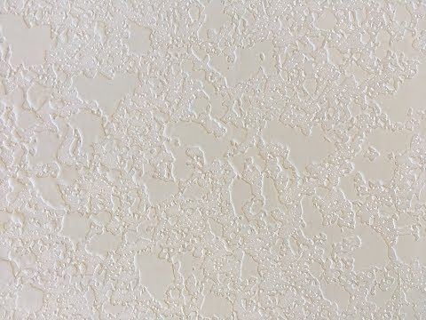 How To Spray Drywall Knockdown Texture