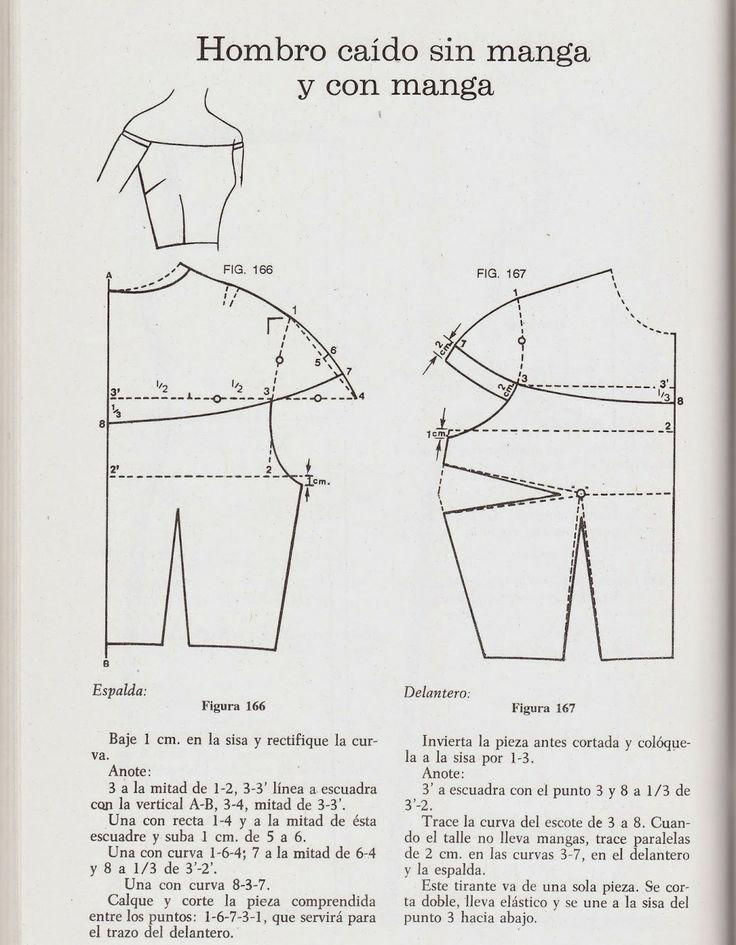 Mejores 91 imágenes de Molderia en Pinterest | Patrones de costura ...