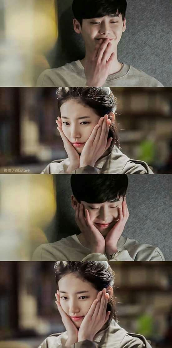 While you were sleeping Lee jong suk and Suzy Dorama K drama