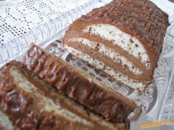 Bielkovo čokoládový chlebíček