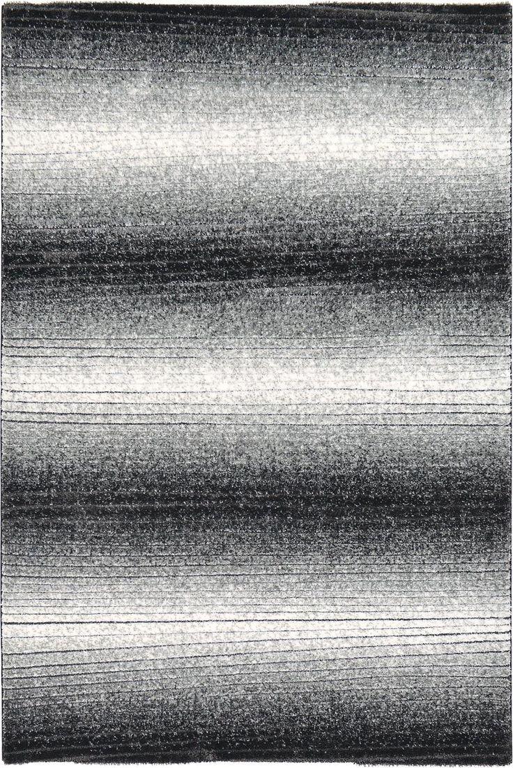 Black 200cm x 297cm Textured Shag Rug | Area Rugs | iRugs Singapore