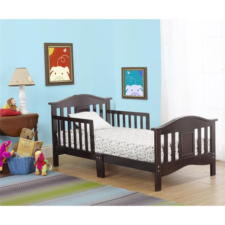 Orbelle The Orbelle Contemporary Toddler Bed in Espresso - $89