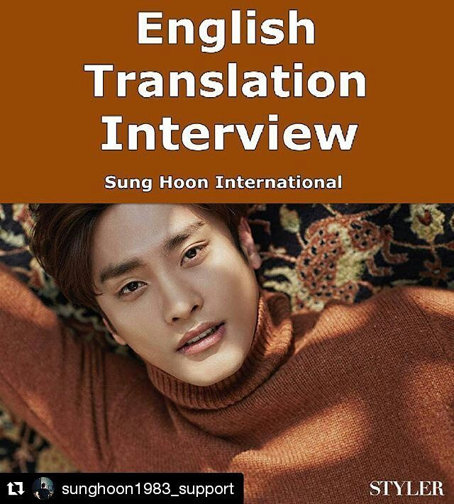"#Repost @sunghoon1983_support ・・・ [ ENGLISH ] #CLICK #LINK at "" my Bio"" to get to know #SUNGHOON #성훈 MORE with 35 Questions from #STYLER #스타일러 By 주부생활 #MAGAZINE 2017년 2월 February 2017  English Translation by our #korean sister @esjei.lee Thank you . ****************** LINK >>>>> https://web.facebook.com/SungHoonBang.FanPage/posts/1410919838928275:0 . ********************** . #배우성훈 ‬ @sunghoon1983  @stallion__entertainment #ソンフン #방성훈 #成勋 #成勛 #sunghoon1983  #sunghoon1983_support #스탤리온엔터테인먼트…"