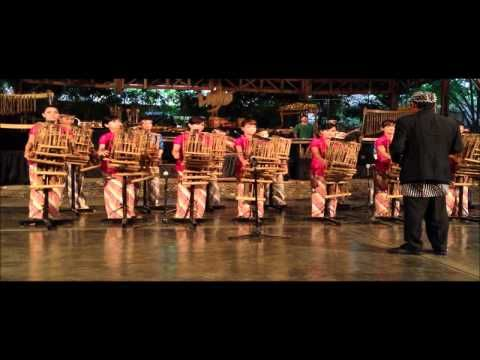 ANGKLUNG Bamboo Music Instruments  West Java, Indonesia