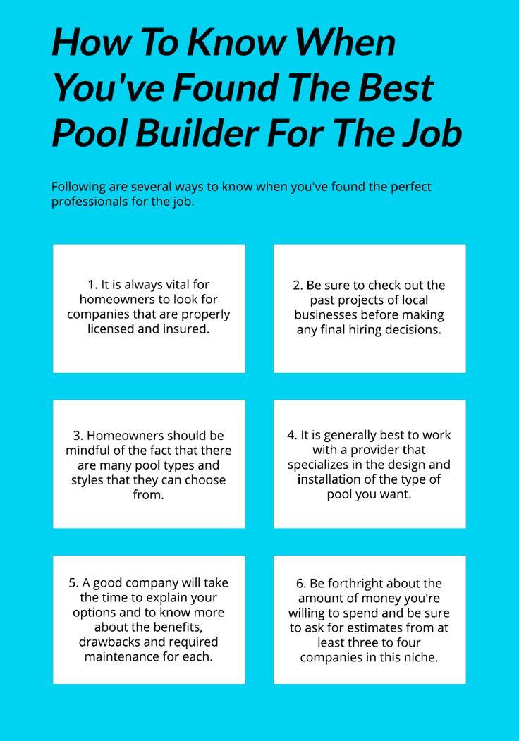 Best 25 Swimming Pool Builders Ideas On Pinterest