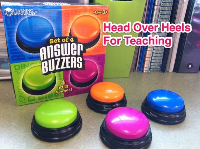 Answer Buzzers Free! Just return the magazine subscription forms from Highlights Magazine.