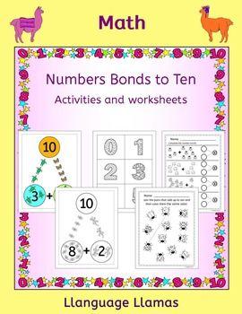 1000 ideas about number bonds worksheets on pinterest singapore math kindergarten math and. Black Bedroom Furniture Sets. Home Design Ideas