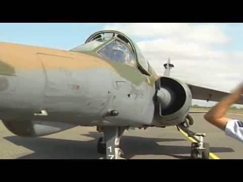 1 Squadron Mirage F1 AZ SAAF Angola Bush War - YouTube