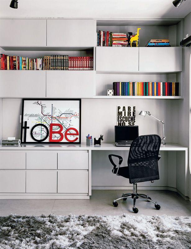 Seis ambientes onde as estantes são as protagonistas - Casa