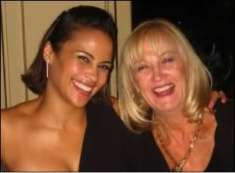 Paula Patton and her mom
