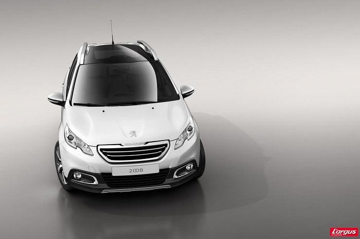 Peugeot 2008 SUV Concept: First official images online