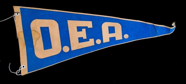 Vintage Collectible Organization of American States French Version OEA Pennant