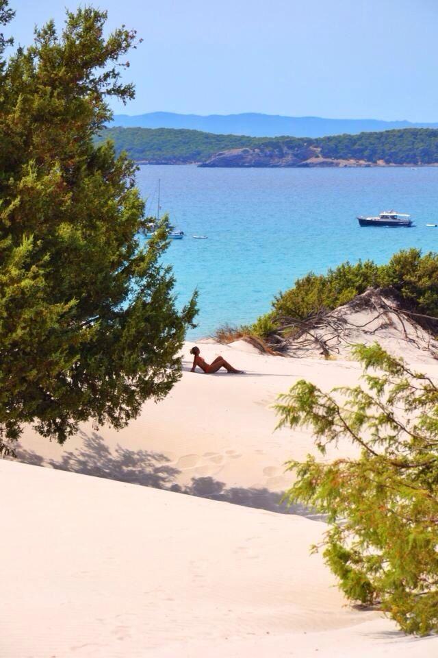 Porto Pino Sardegna dune di sabbia