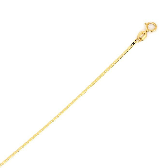 Link Goes To Amazon 10k Yellow Gold Mariner Chain Anklet 10 Inches In 2020 Gold Mariner Chain Chain Anklet Jewelry Stores