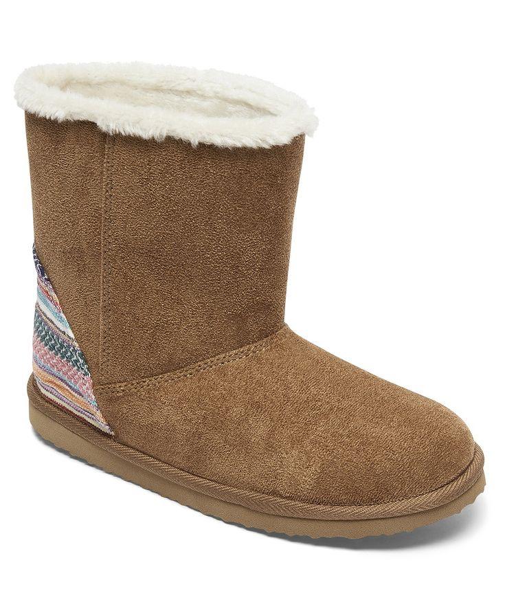 dziecięce buty Roxy Molly - TB2/Tan/Brown - Snowboard shop, skateshop - snowboard-online.pl