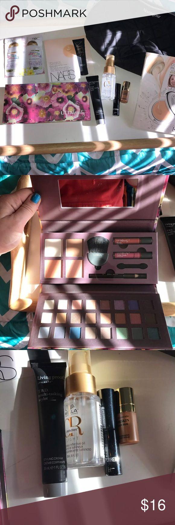 Makeup Bundle 8 highend products and makeup bag. Brands