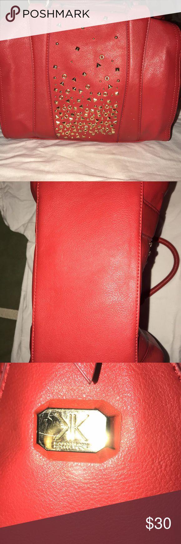 Kim Kardshian bag, beautiful red, no flaws Beautiful, look at pics Kardashian Kollection Other