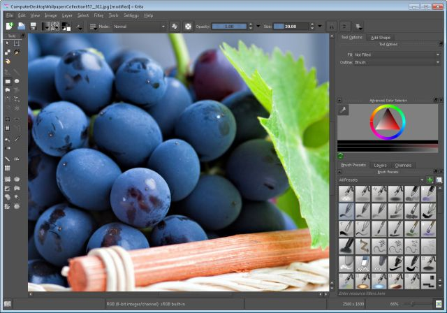 Forget Photoshop, Edit Your Photos With These Top Free Photo Editors: Krita Desktop