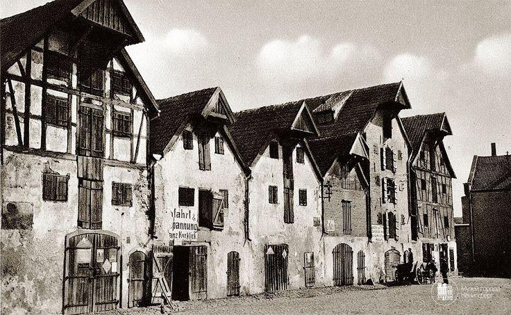 Велау – Знаменск. Фахверковые склады. Фото ок. 1935 г.