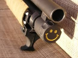 Smile! (one of the coolest designs i saw on a shotgun) - Remington 870 SBS