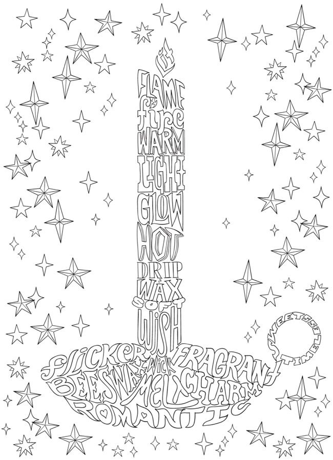 Creative Haven Whimsy Christmas A Wordplay Coloring Book Dover Publications Christmas Coloring Pages Pattern Coloring Pages Easter Coloring Pages