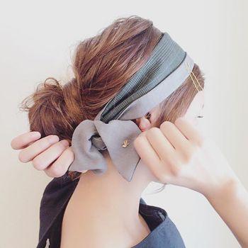 簡単なヘアバンドタイプもありますが、今回はヘアバンドでは出来ない、簡単だけど本格的な仕上がりのアレンジをいくつかご紹介します♪
