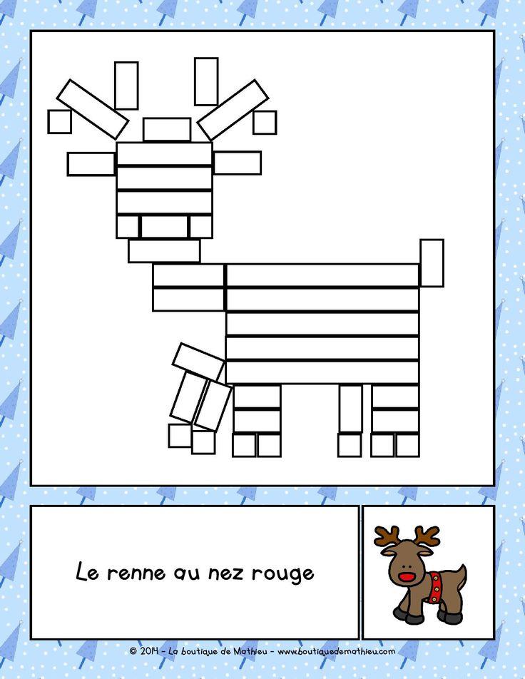 Les Réglettes de Noël - La boutique de Mathieu - Ressources pédagogiques pour les enseignants