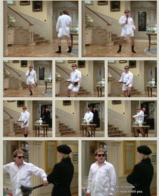 I saw EXACTLY AND ONLY this part the first time I watched the nanny. And I fell in love.