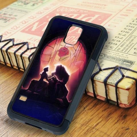 Light On Beauty And The Beast Samsung Galaxy S5 Case