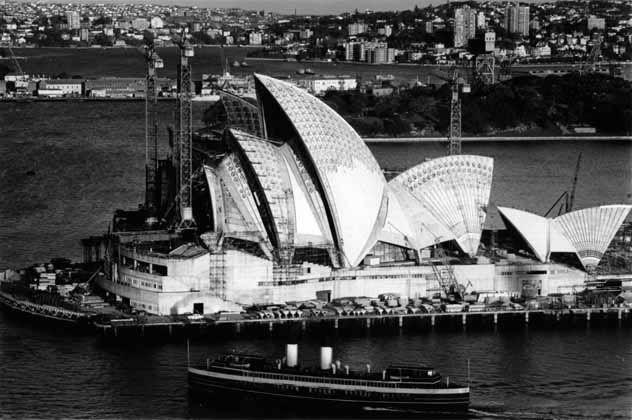 OperaHouse in Sydney... A beauty!   La Casa de la Opera en Sidney... Una belleza!